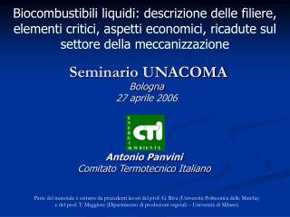 Seminario UNACOMA