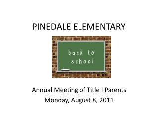 PINEDALE ELEMENTARY