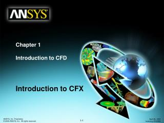 Chapter 1 Introduction to CFD