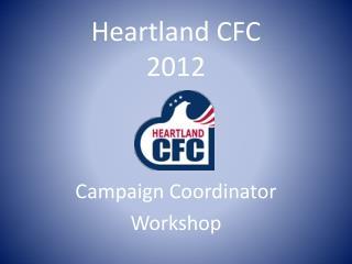 Heartland CFC  2012