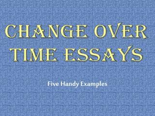 Five Handy Examples