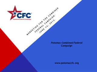 Marketing for the Combined  Federal Campaign June 14, 2013