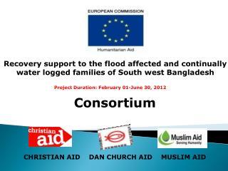 Consortium CHRISTIAN AID    DAN CHURCH AID    MUSLIM AID
