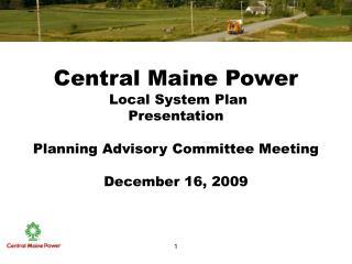Purpose of Local System Plan