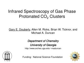 Infrared Spectroscopy of Gas Phase Protonated CO 2  Clusters