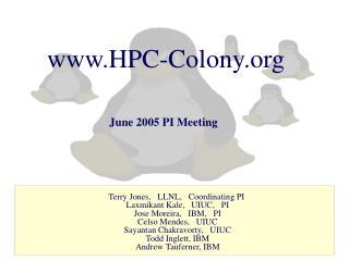 HPC-Colony