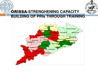 ORISSA-STRENGHENING CAPACITY BUILDING OF PRIs THROUGH TRAINING