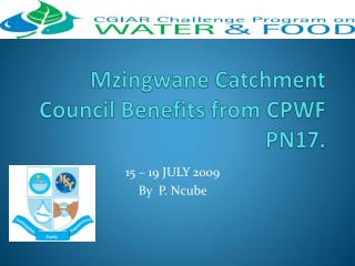 Mzingwane Catchment Council Benefits from CPWF PN17.