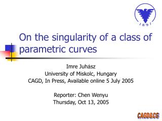 On the singularity of a class of parametric curves