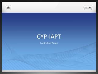 CYP-IAPT
