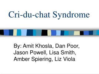 Cri-du-chat Syndrome