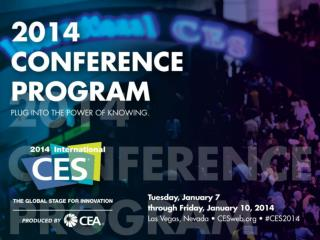 Rate this  conference  session  Follow  these simple steps: 1. Tap on the Conference program icon