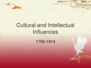 Cultural and Intellectual Influences