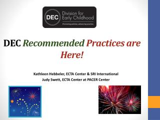 DEC  Recommended Practices are Here!