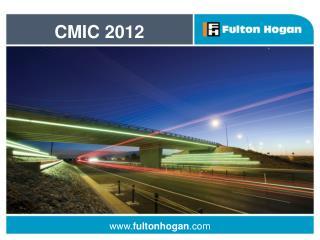 CMIC 2012