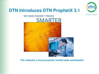 DTN Introduces DTN ProphetX 3.1