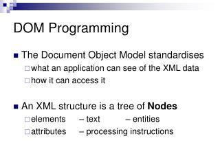 DOM Programming