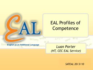 EAL Profiles of Competence