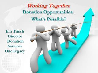 Working Together Donation Opportunities:  What's Possible?