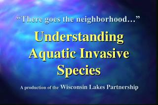 A production of the  Wisconsin Lakes Partnership