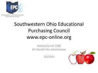 Southwestern Ohio Educational Purchasing Council epc-online