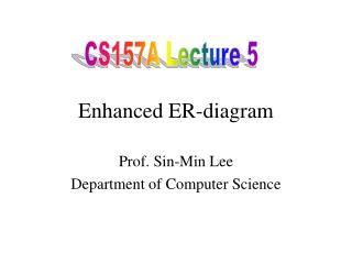 Enhanced ER-diagram
