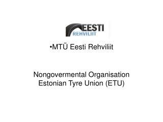 MTÜ Eesti Rehviliit