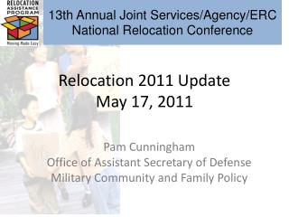 Relocation 2011 Update May 17, 2011