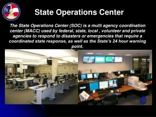State Operations Center