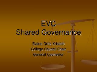 EVC  Shared Governance