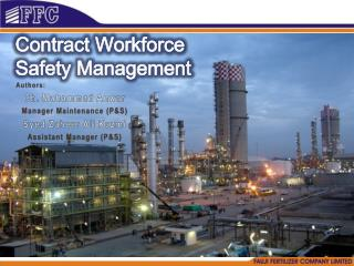 Contract Workforce  Safety Management
