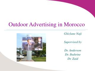 Outdoor Advertising in Morocco