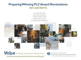 Preparing Winning FLC Award Nominations: Do�s and Don�ts