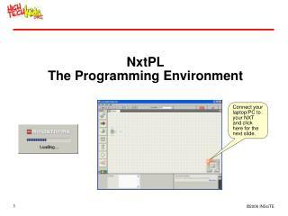 NxtPL The Programming Environment