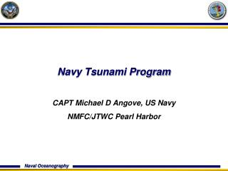 Navy Tsunami Program