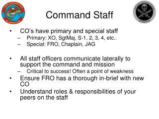 Command Staff