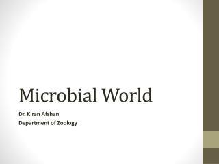 Microbial World