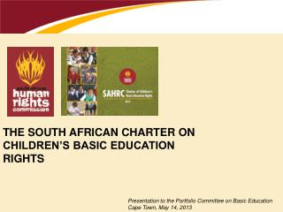 The South African charter on children's basic education rights
