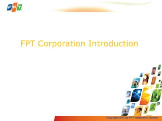 FPT Corporation  Introduction