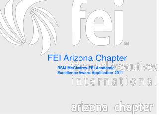 FEI Arizona Chapter