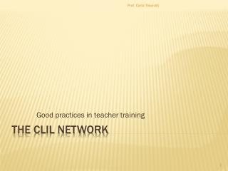 THE CLIL NETWORK