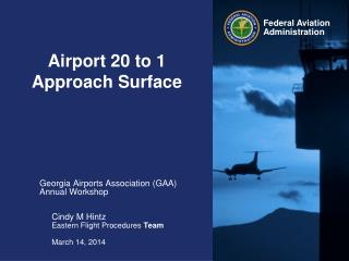 Airport 20 to 1  Approach Surface