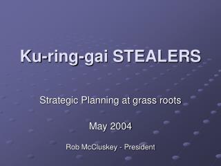 Ku-ring-gai STEALERS