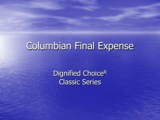Columbian Final Expense