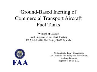 Ground-Based Inerting of Commercial Transport Aircraft Fuel Tanks