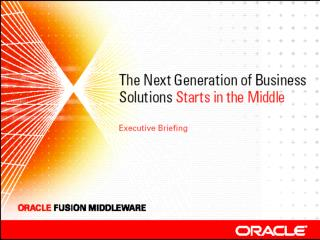 Oracle s Fusion Strategy   Thomas Kurian Senior Vice President Oracle Server Technologies