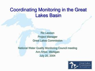 Coordinating Monitoring in the Great Lakes Basin