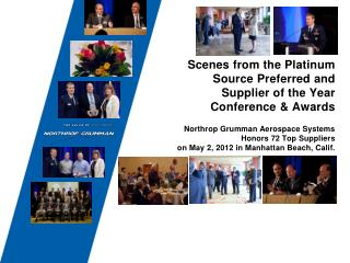 Scenes from the Platinum Source Preferred and  Supplier of the Year Conference & Awards