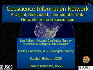 Geoscience Information Network