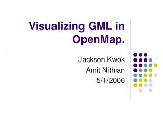 Visualizing GML in OpenMap.